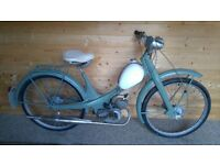 NSU Quickly N26 classic vintage moped