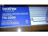 Genuine brother toner TN-2000
