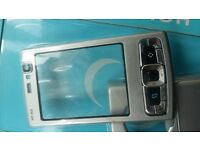 NOKIA N95 8GB SILVER FULL KEYPAD HOUSING FASCIA COVER FACE