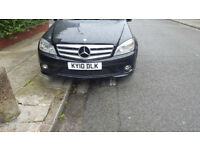 Mercedes-Benz 2010 Auto C Class C180 petrol 1.6 /not vw touran/sharan/ford/zafira/