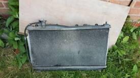 Honda civic radiator mk7 manual