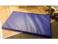 For sale as new gymnastics mat hardly used 150cm x 90cm x 6.5cm. Pick up only £25