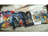 Lego boys T-shirts from Next and George
