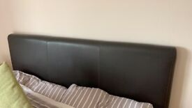 King size bed divan and headboard