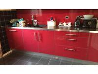 Ikea Kitchen units, Oven, Hob & Extractor Hood