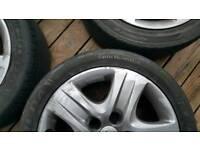 Vauxall insignia wheels 17 inc steel x4