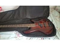 Gear4Music Bass Guitar & Amp, excellent condition
