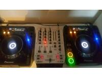 Pioneer Decks mixer &wall mount