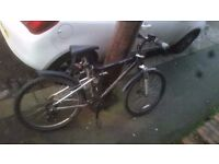 £50 MOUNTAIN BIKE!! Everything you need, front and rear lights, combination lock and mud guards