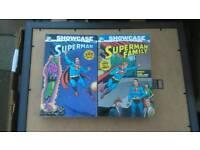 Superman graphic novel job lot
