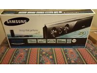 Samsung Crystal Surround Sound Bar and Wireless Subwoofer