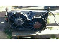 MONDEO V6 RADIATOR WATER + AC+FAN full works Open to offers
