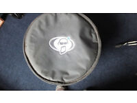 PROTECTION RACKET 16 X 16 PADDED TOM BAG EXCELLENT CONDITION