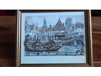 Anton Pieck Framed Picture