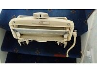 ACME Made old fashioned hand operated mangle, c 1950's, vgc