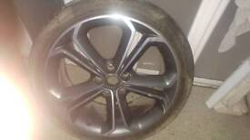 "Vauxhall zaifra touring 19"" alloy wheel"