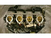 Yamaha YZF 600 R6 03 04 05 5SL Throttle Bodies Injectors
