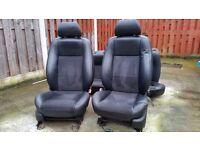 Ford mondeo leather/alcantara interior