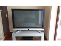 "Samsung 42"" Flat Screen HD ready TV Model PS42E7HD inc stand and remote - very good condition"