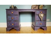 Writing desk, Chest of drawers, Sideboard