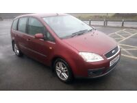 2004 FORD C-MAX 2.0 DIESEL 6 SPEED, 104,000 MILES FROM NEW, 11 MONTHS MOT, PRICE TO SELL