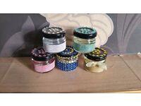 Wedding favors mini jars