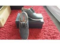 Mens boss casual shoes uk7