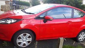 Ford Fiesta 2010 red cat C quick sale £1000