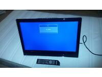 """22"""" HD ready digital LCD TV with DVD player"""