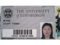 Learning Mandarin chinese with a highly experienced teacher currently teaching at Edinburgh uni