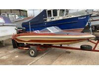 14ft speedboat 60hp bigfoot outboard