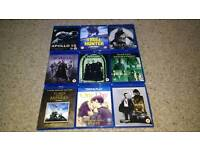 Assorted Bluray DVDs