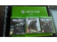 Xbox one 1TB with 3 call duty Games