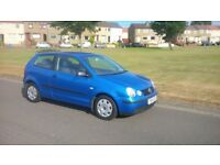Volkswagen Polo 1.2 in Blue Full Service history Nice and Clean Long MOT First to see will buy