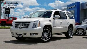 2013 Cadillac Escalade NAVIGATION, LEATHER, PWR ALL, NO ACCIDENT