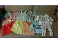 Baby girls mixture clothes