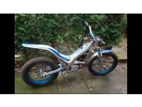 Sherco 290 trials bike 2004