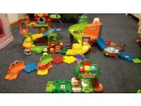 Toot Toot Animals Safari Playset & Toot Toot Treehouse Playset