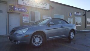 2009 Chrysler Sebring Touring-Convertible-Loaded-Alloys-Pwr Top