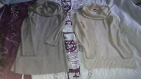 2x ladies jumpers size 12