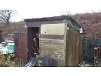 Sloping Wooden Shed - 7 x 5