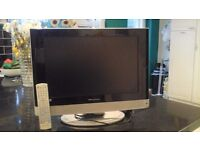 Wharfedale 19 inch TV/DVD COMBI