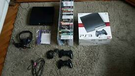 Ps3 play station 3 and 38 games