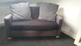 Ikea sofa bed (small double) in grey