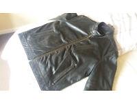 Black Leather Jacket (L)