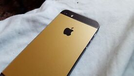 iPhone 5s 32Gb Unlocked Matte Gold and Matte Black
