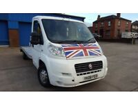 Fiat Ducato Recovery Truck Very Low Miles Hpi Clear Light Body Starts And Runs Very Well Bargin