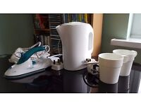 Travel Iron and Travel Kettle