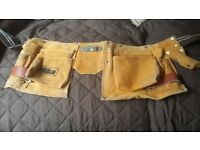 Tool Belt suede leather