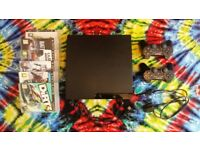 PS3 + 2 pads very good condition + 6 games